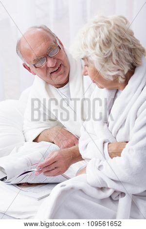 Senior Man With Wife