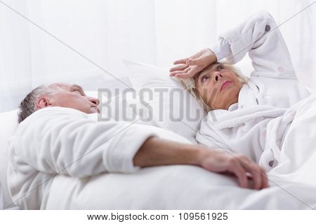 Elderly Couple And Dispute