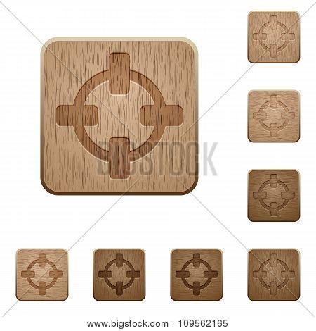 Target Wooden Buttons