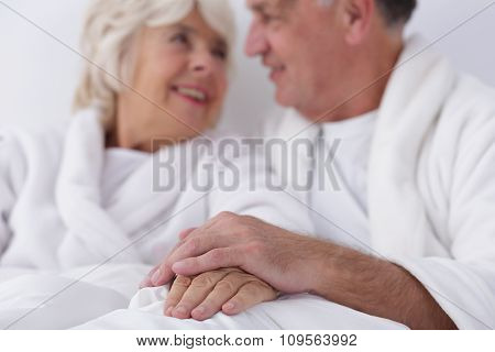Married Couple Celebrating Anniversary