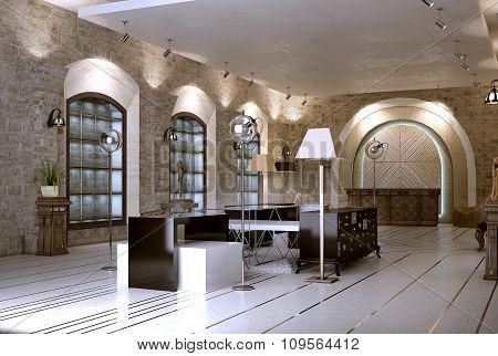 Shop Interior Baroque Style
