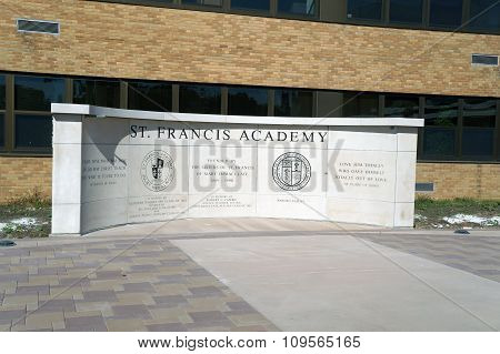 St. Francis Academy Monument