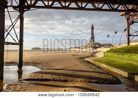 Blackpool Tower Framed