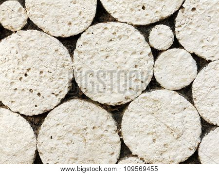 Abstract Decorative Bas-relief Of Natural Stone Texture Background For Any Of Your Project