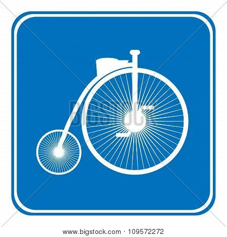 Allowed Bike Sign.