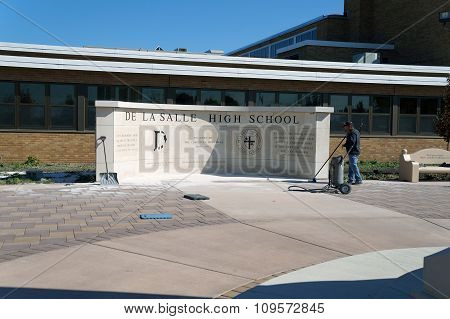 De La Salle High School Monument