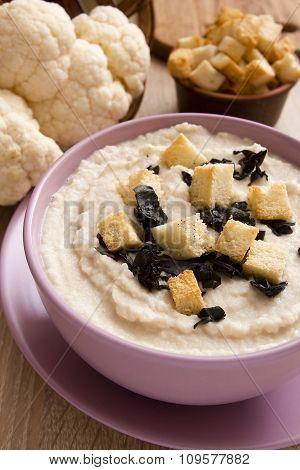 Soup Cauliflower Puree
