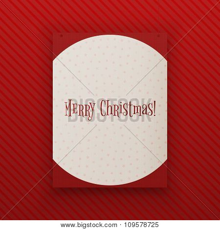 Merry Chistmas hanging paper Banner Template