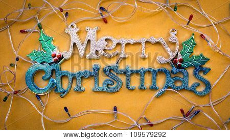 Christmas Decorate Ornaments Background