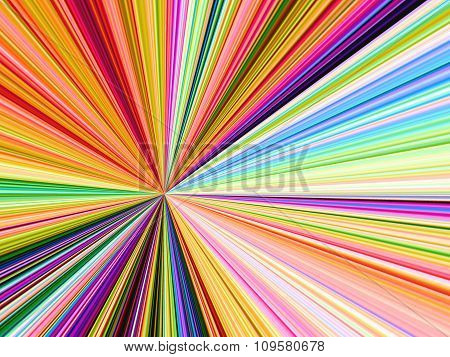Abstract Colorful Stripe Background