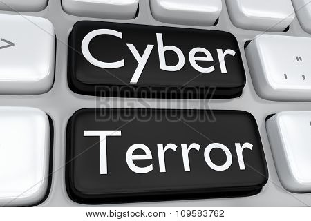 Cyber Terror Concept