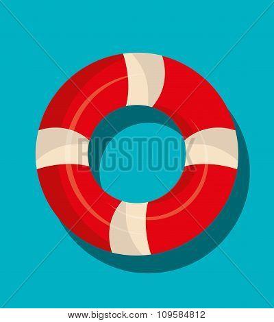 Nautical float graphic icon
