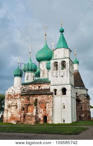 Epiphany Cathedral in Rostov the Great. Russia