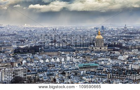 Cloudy Paris