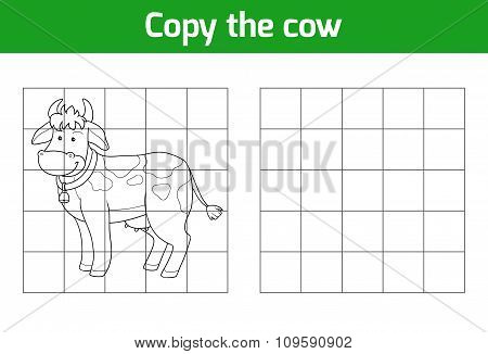 Copy The Picture: Cow