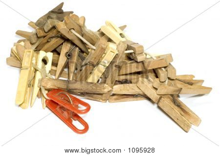 Lot Of Clothes-Peg