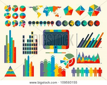 vector illustration of Infographic Elements