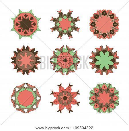 Mandala ornament pattern.