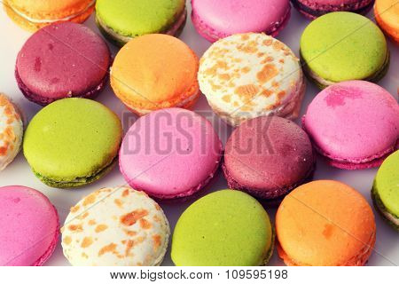 French Sweet Delicacy Macaroons