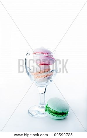 Macaroon In The Glass