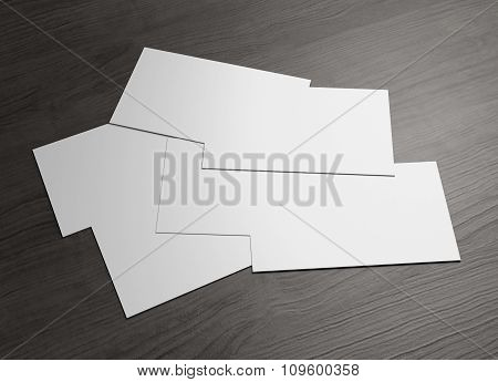 Many Name Card For Business Presentation
