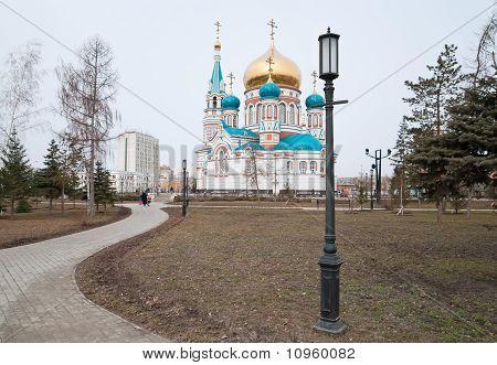Assumption Cathedral In Omsk