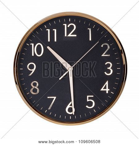 Half Past Ten On The Clock Face