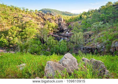 Kakadu National Park (northern Territory Australia) Landscape Near Gunlom Lookout