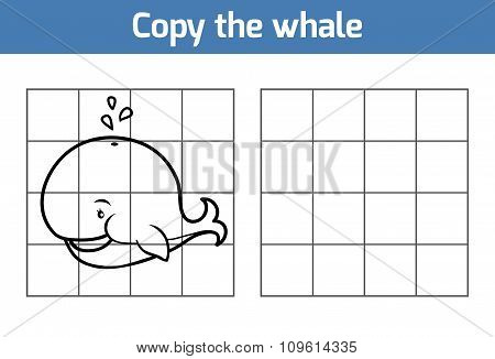 Copy The Picture: Whale