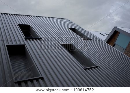 Modern Buildings In France