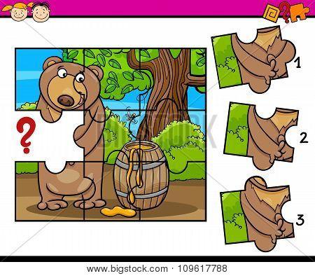 Puzzle Preschool Cartoon Task