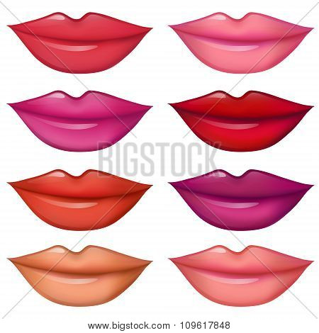 Lips Set Women Lipstick Trendy Colors 1