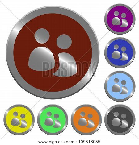 Color User Group Buttons