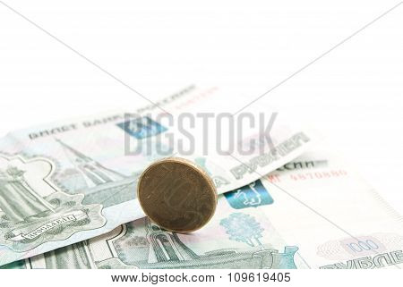 Russian Coins And Banknotes