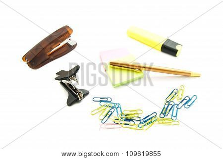 Staple Remover, Pen And Other Stationery