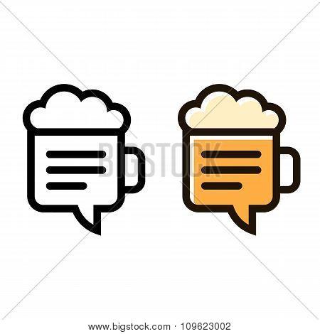 Beer Mug Sign