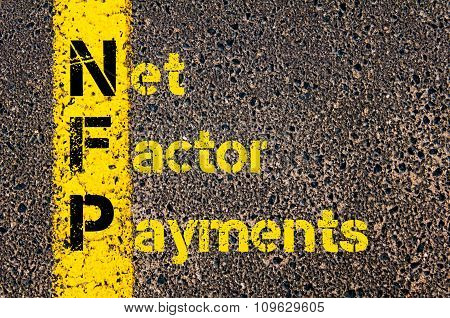 Business Acronym Nfp As Net Factor Payments