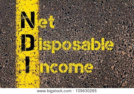 Business Acronym Ndi As Net Disposable Income