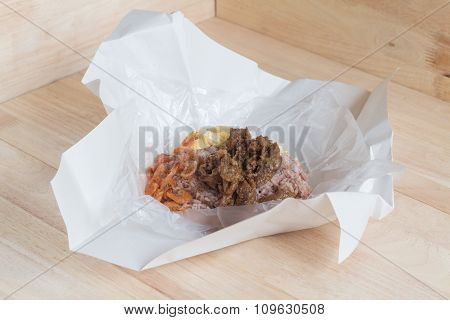Rice Seasoned With Shrimp Paste (khaao Khlook Gabpi)