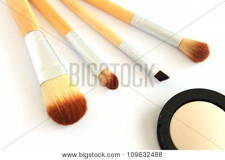 Makeup Brush and Eye Shadow
