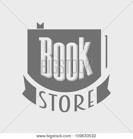 Bookstore. Vector Logo Concept