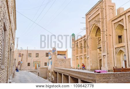 The Old Street Of Khiva