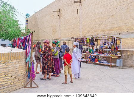The Shopping In Khiva