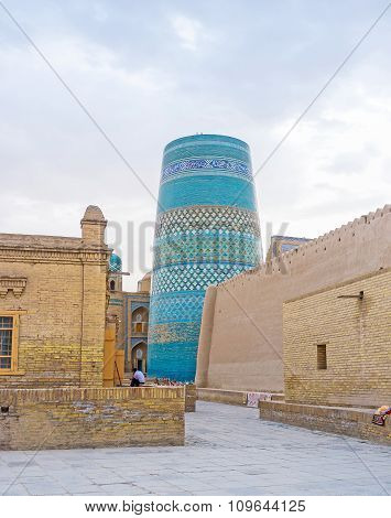 The Kalta Minor Minaret