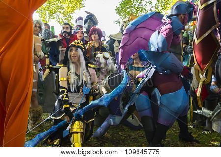 Cosplay In Lucca Fair