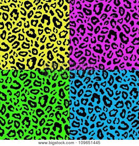 Leopard Seamless Pattern 80S