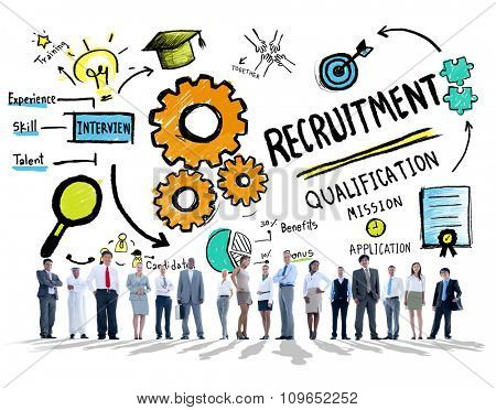 Diversity Business People Recruitment Profession Concept