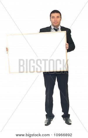 Executive Holding Placard