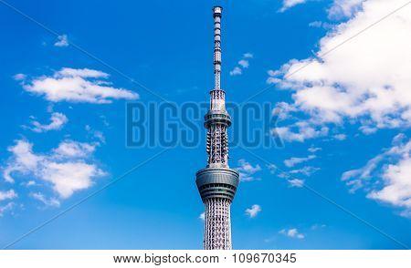 Skytree tower in Tokyo, Japan