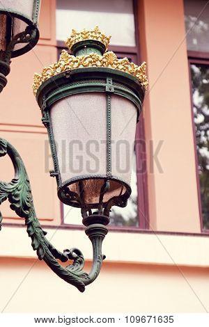 Old retro lantern